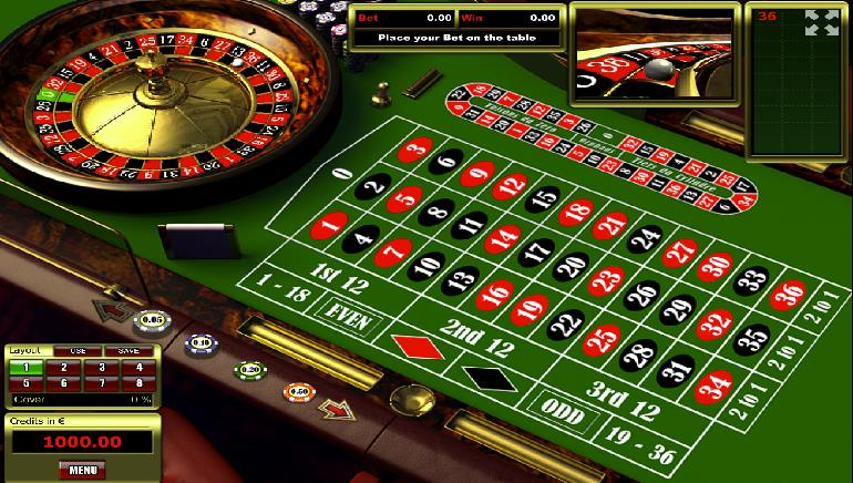 Description: European-Roulette-roulette